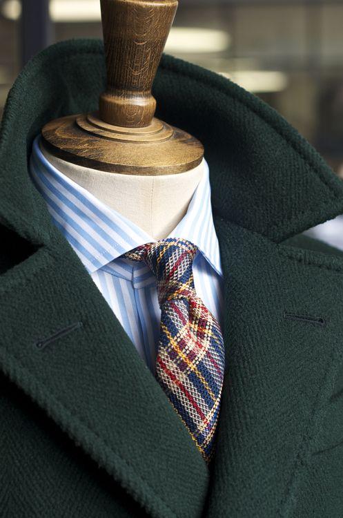 с чем носить мужское пальто 25