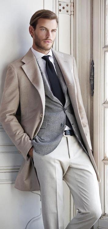 с чем носить мужское пальто 30