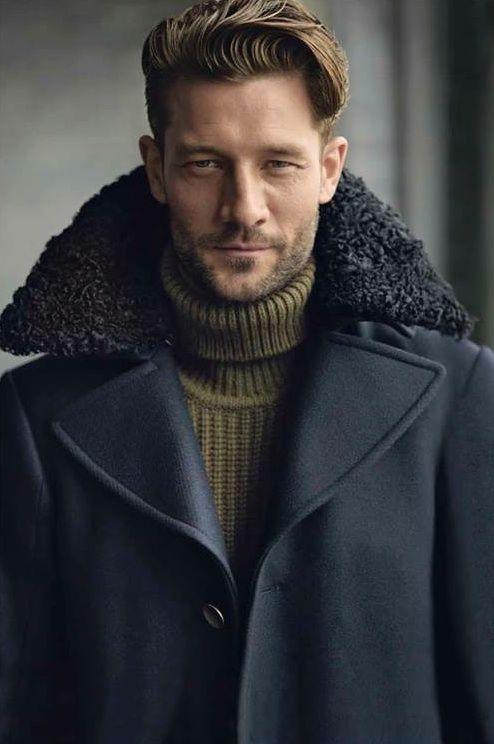 с чем носить мужское пальто 36