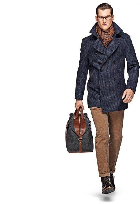 с чем носить мужское пальто 38
