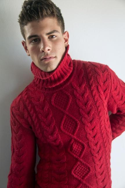 1 мужская мода стильные мужчины men in red 10