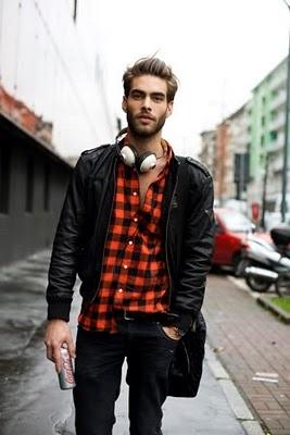 1 мужская мода стильные мужчины men in red 12