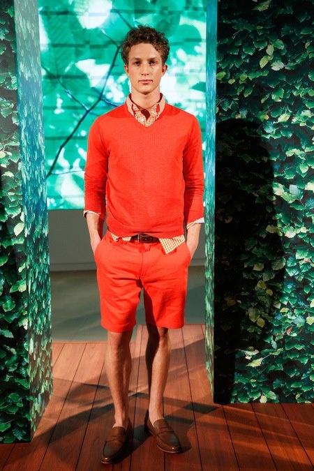 1 мужская мода стильные мужчины men in red 13
