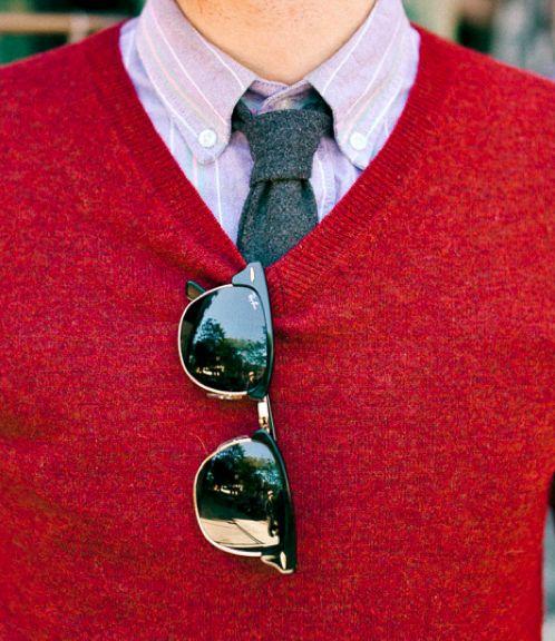 1 мужская мода стильные мужчины men in red 19