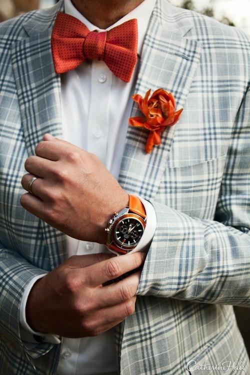 2 мужская мода стильные мужчины men in orange 07