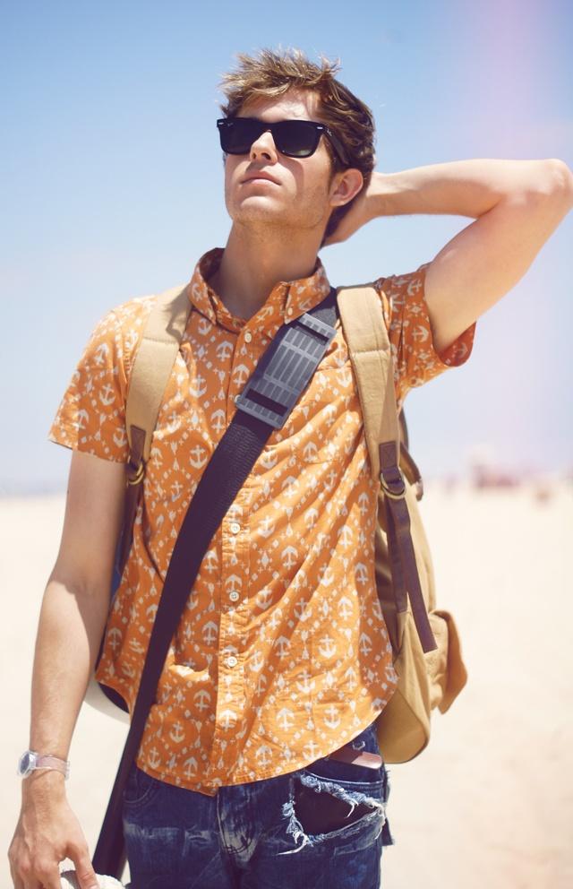 2 мужская мода стильные мужчины men in orange 09