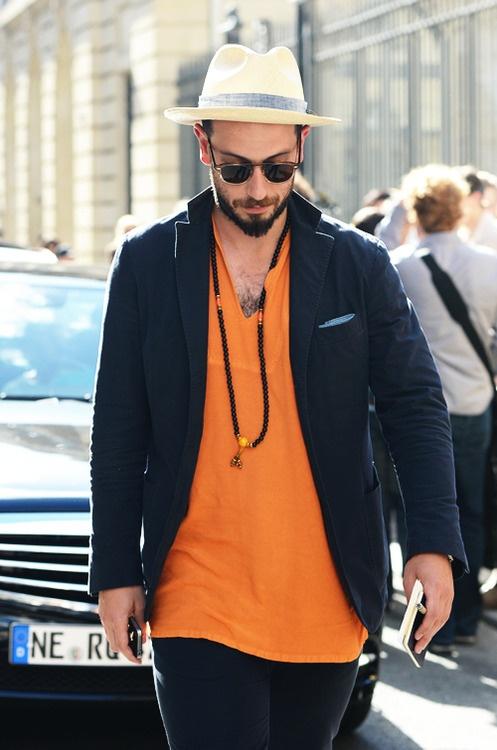 2 мужская мода стильные мужчины men in orange 10