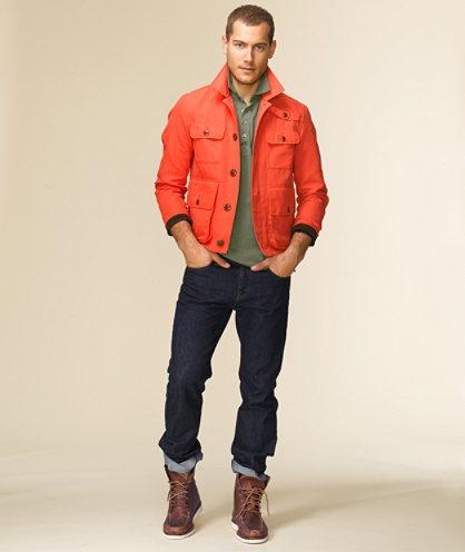 2 мужская мода стильные мужчины men in orange 12