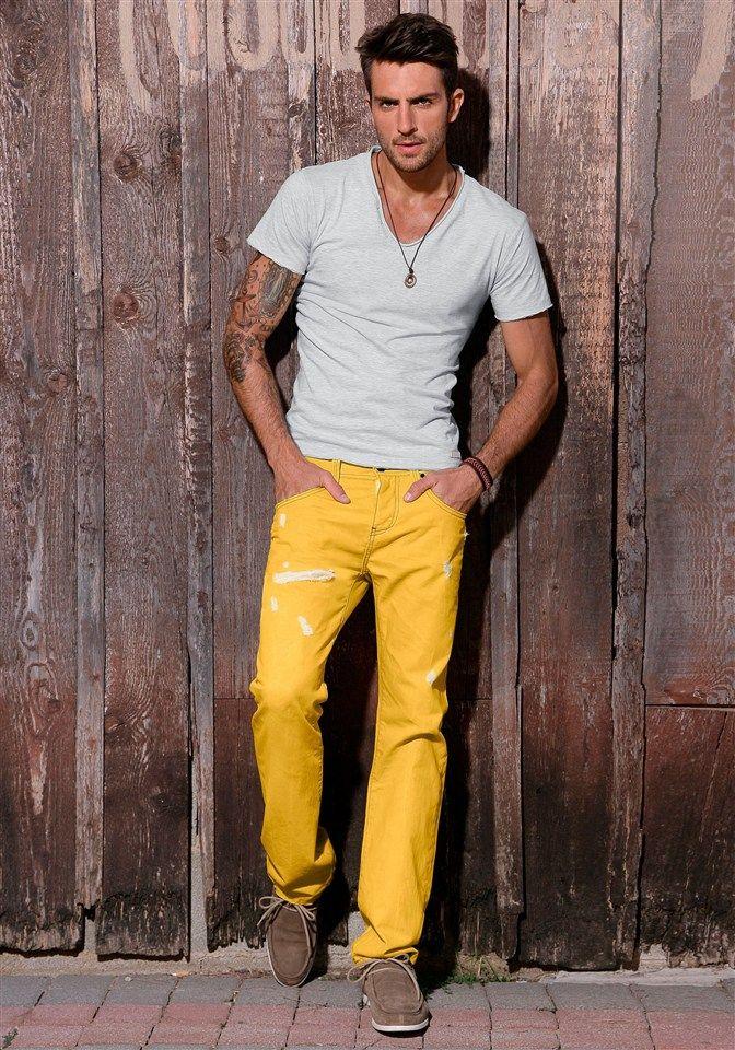 3 мужская мода стильные мужчины men in yellow 02