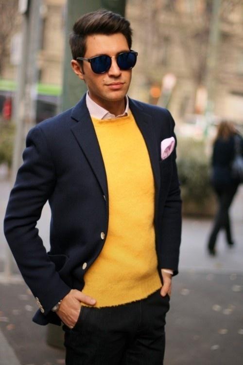 3 мужская мода стильные мужчины men in yellow 03