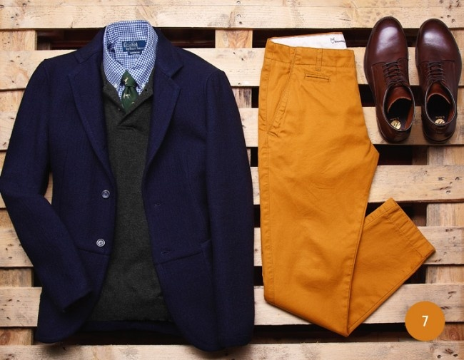 3 мужская мода стильные мужчины men in yellow 05