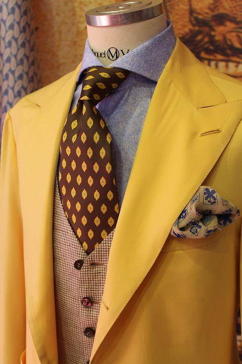 3 мужская мода стильные мужчины men in yellow 06