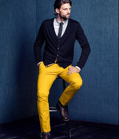 3 мужская мода стильные мужчины men in yellow 07