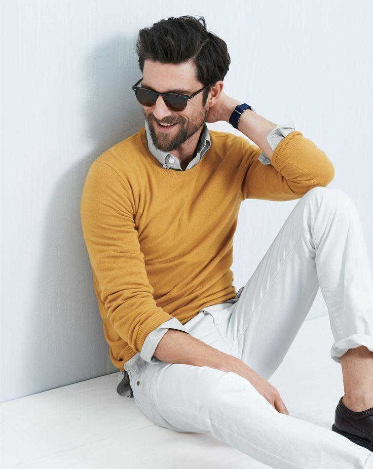 3 мужская мода стильные мужчины men in yellow 13