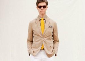 Желтый цвет в мужском гардеробе
