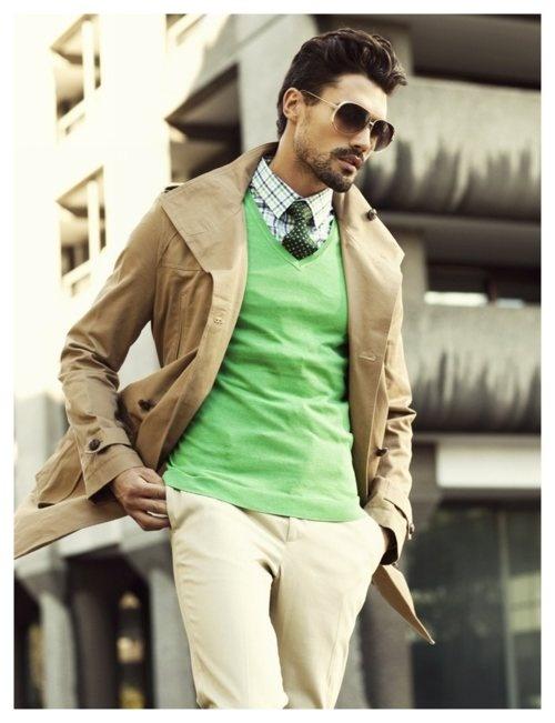 4 мужская мода стильные мужчины men in green 02