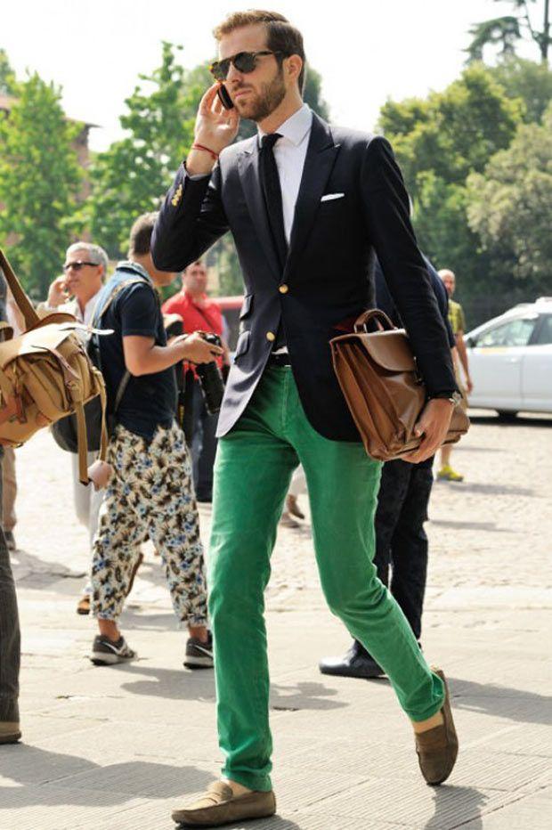 4 мужская мода стильные мужчины men in green 04