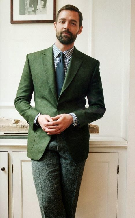 4 мужская мода стильные мужчины men in green 09