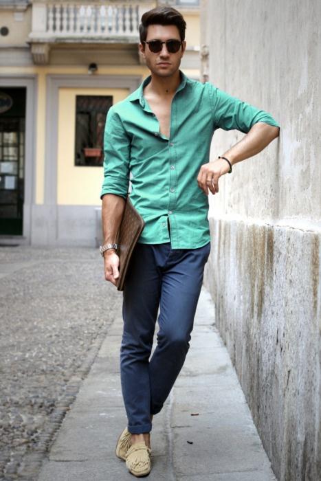 5 мужская мода стильные мужчины men in blue 02