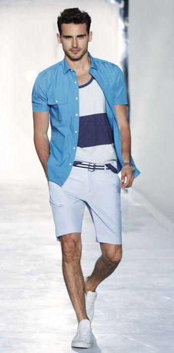 5 мужская мода стильные мужчины men in blue 04