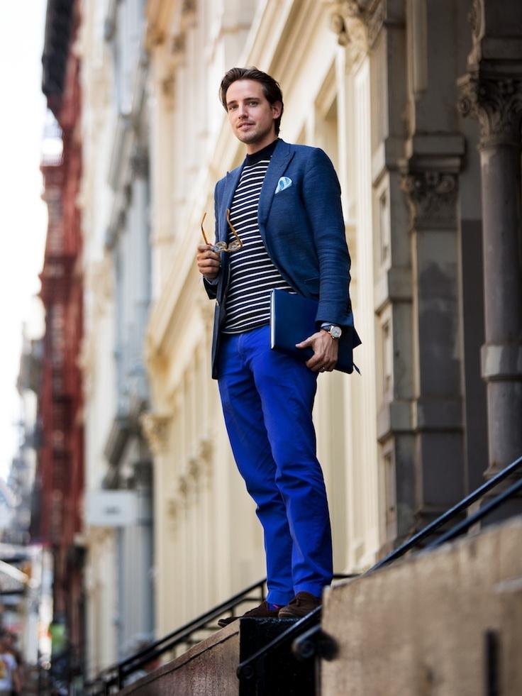 5 мужская мода стильные мужчины men in blue 06