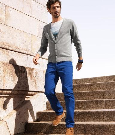 5 мужская мода стильные мужчины men in blue 10