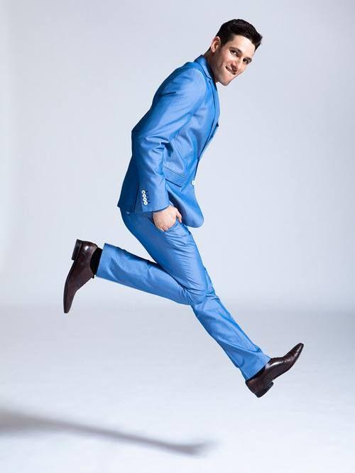 5 мужская мода стильные мужчины men in blue 13