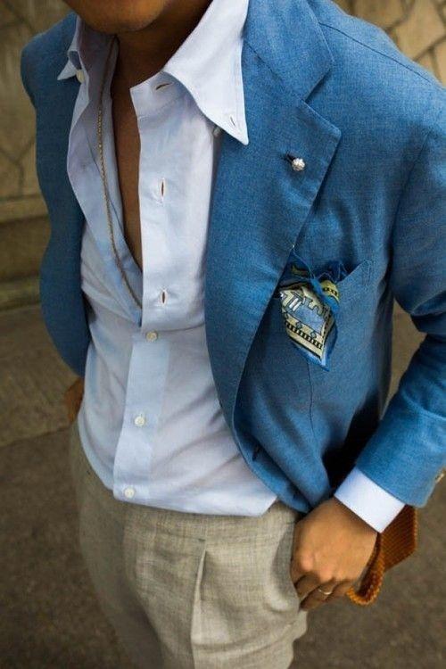 5 мужская мода стильные мужчины men in blue 19