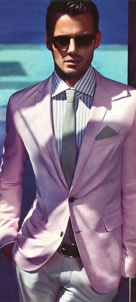 7 мужская мода стильные мужчины men in pink 02