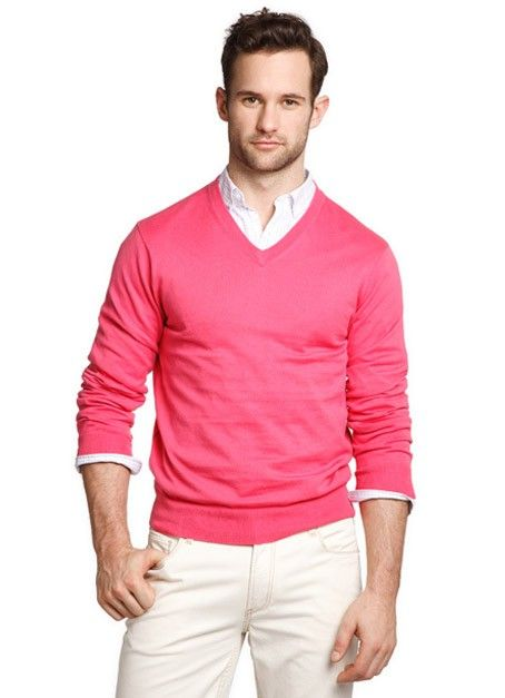 7 мужская мода стильные мужчины men in pink 08