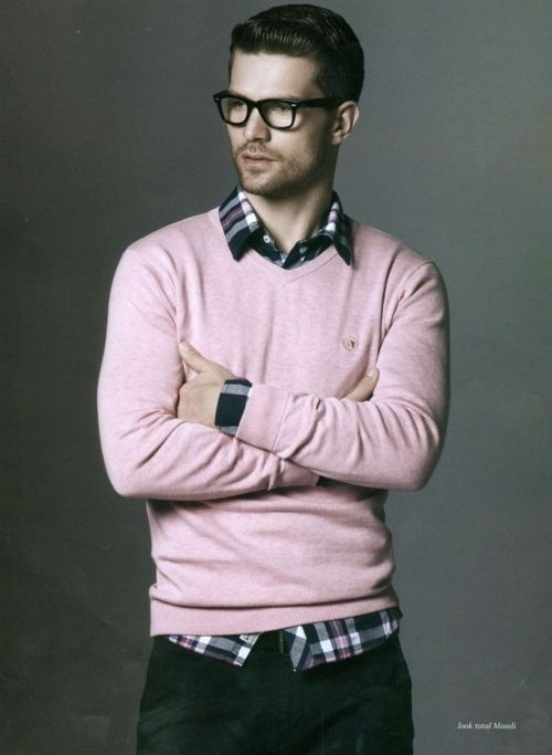7 мужская мода стильные мужчины men in pink 10