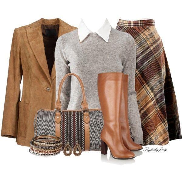 академический стиль в одежде 23
