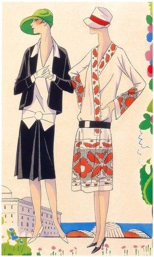 арт-деко стиль одежды 09