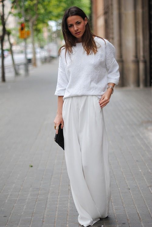 белый цвет в одежде 01