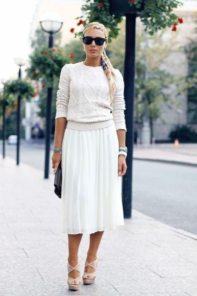 белый цвет в одежде 04