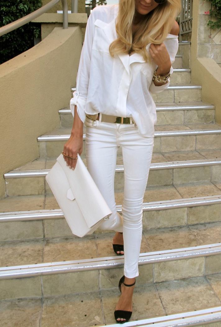 белый цвет в одежде 09