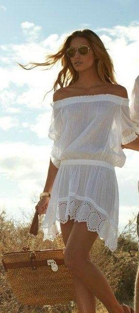 белый цвет в одежде 12