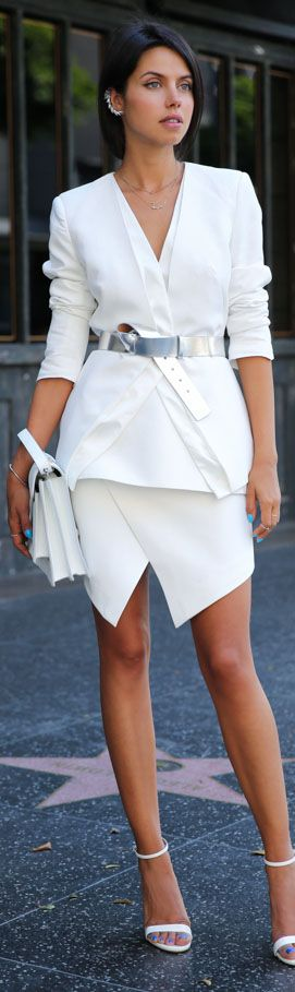 белый цвет в одежде 16