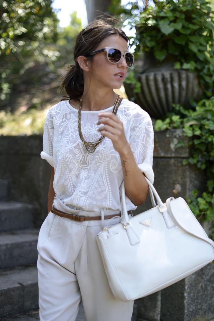 белый цвет в одежде 17