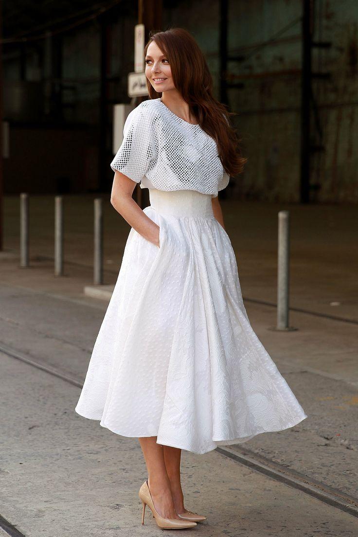 белый цвет в одежде 20