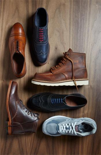виды мужской обуви 01