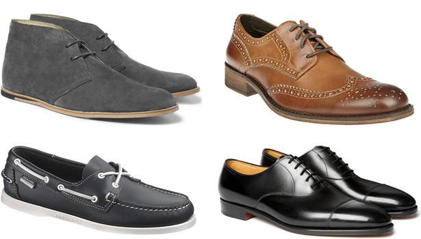 виды мужской обуви 25