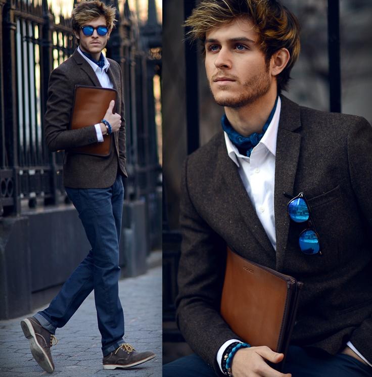 как носить шейный платок мужчине 18