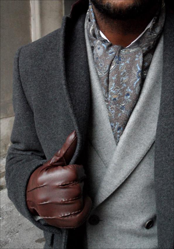 как носить шейный платок мужчине 19