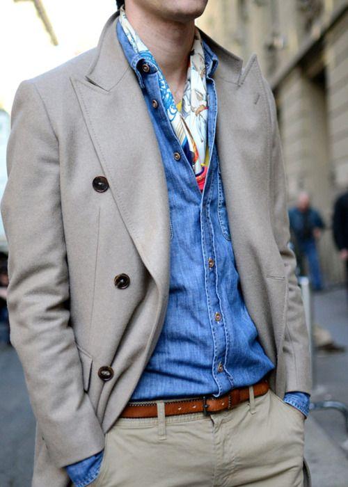 как носить шейный платок мужчине 20