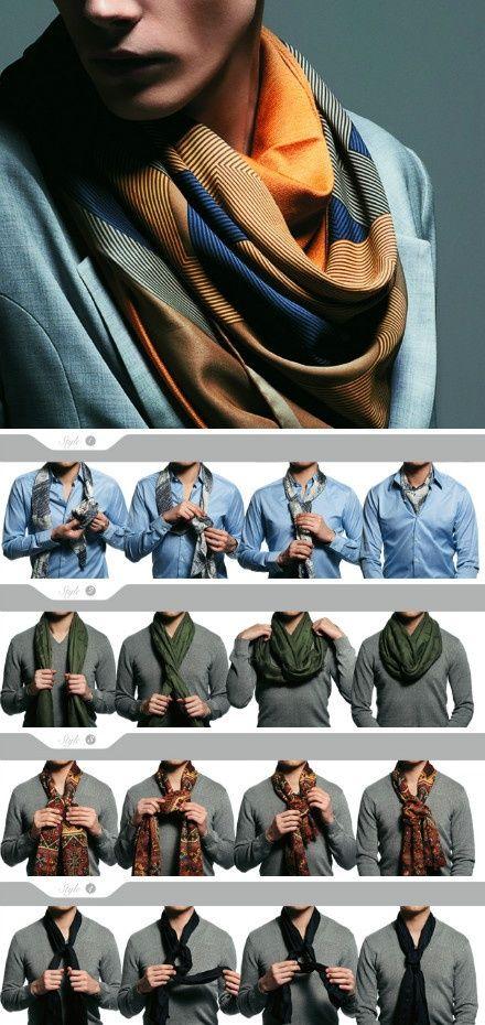 как носить шейный платок мужчине 21