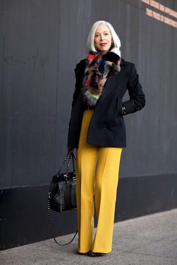 как выглядеть моложе одежда стиль 15