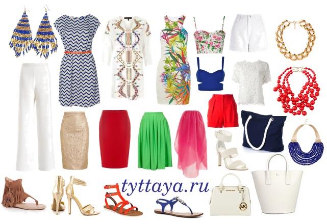 капсульный гардероб лето 02