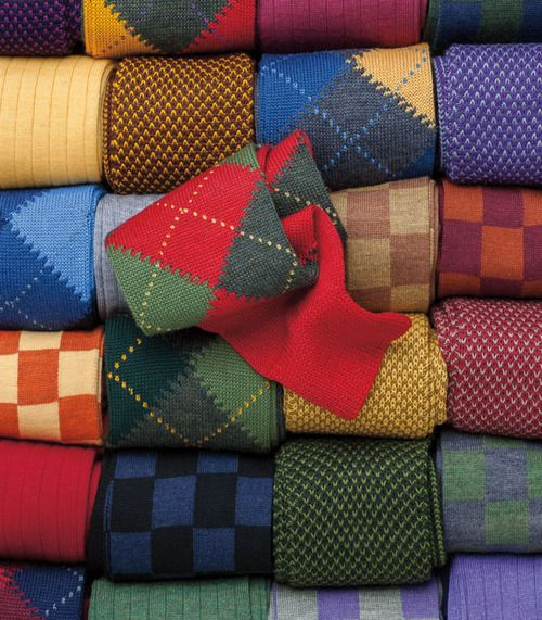 цветные мужские носки 01