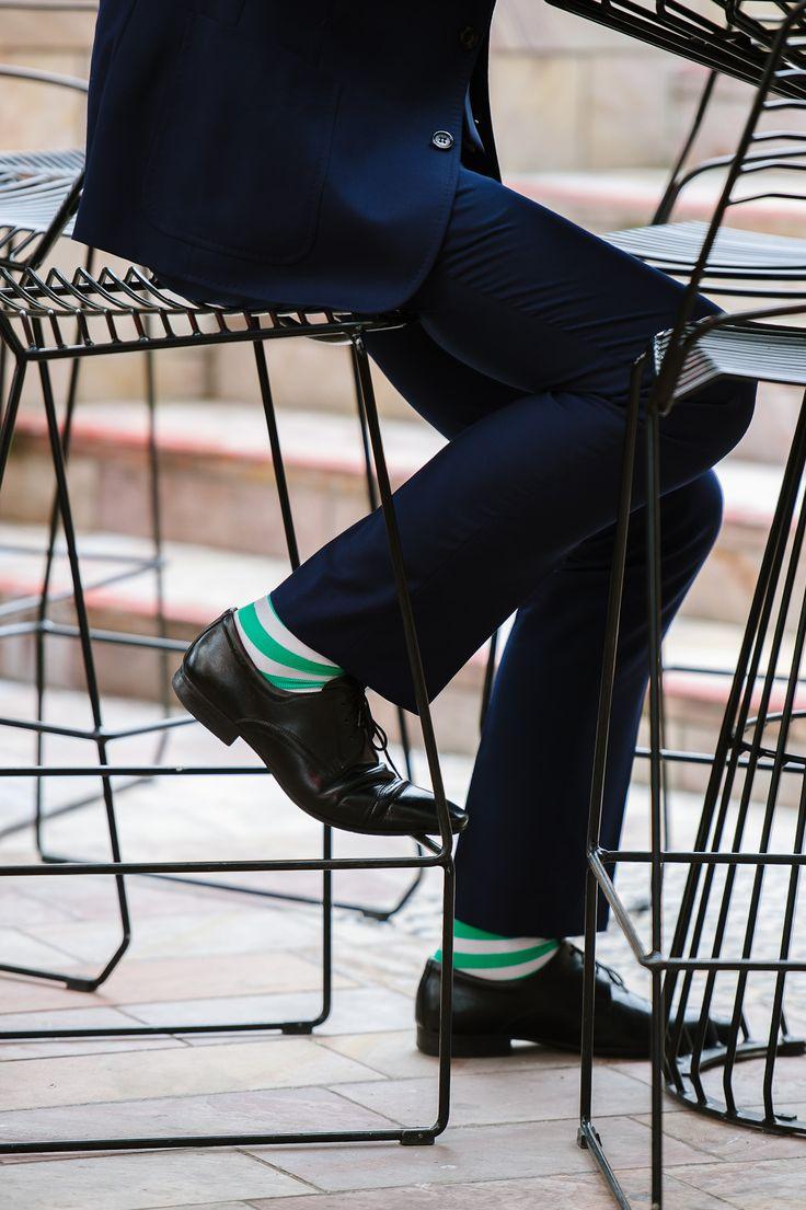 цветные мужские носки 07